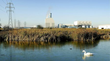 The site at Saddlebow where an incinerator was proposed. Picture: Ian Burt.