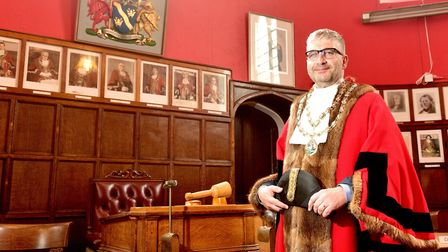 Richard Stubbings is the new mayor of Beccles for 2017/18. Picture: Nick Butcher.