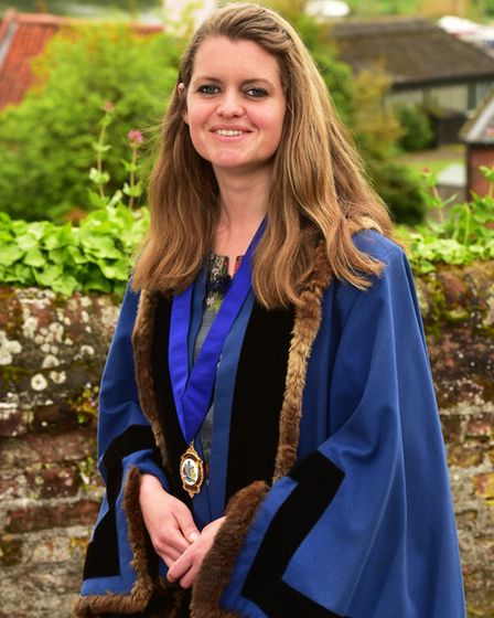 Elfrede Brambley-Crawshaw is the new deputy mayor of Beccles. Picture: Nick Butcher.