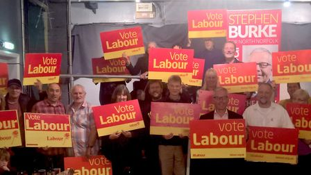 Labour launch their campaign in North Norfolk ahead of the General Election. Picture: NNLP