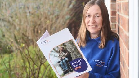 Wymondham resident Sue Heal is delighted Norfolk County Council has adopted the Motor Neurone Diseas