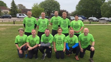 Members of the Boot Camp Fitness Team who will be taking part in Tough Mudder. Picture: Submitted