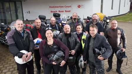 A ride out was organised to raise money in the name of Stanley Matthews, from Norwich, who was diagn