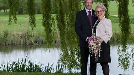 Andy and Sylvia Aitken on their wedding day. Picture: Michael Lyons Photography