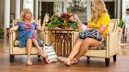 Goldie Hawn as Linda Middleton and Amy Schumer as Emily Middleton in Snatched. Picture: Twentieth Ce