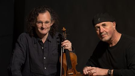 NNF17. Martin Hayes and Dennis Cahill. Photo: supplied by Norfolk and Norwich Festival.