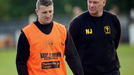 Neil Jarvis has been in temporary charge at Fakenham Town since Wayne Anderson's departure. Picture: