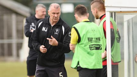 Fakenham caretaker manager Neil Jarvis is not sure what the future holds in store following Monday's