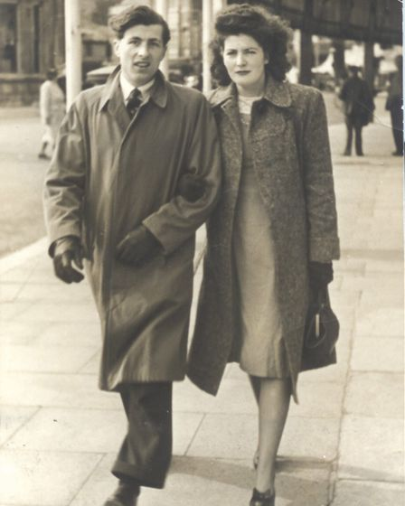 Kenneth and Muriel Brown in the 1940s. Photo: Royal British Legion