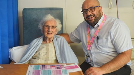 Staff at the QEH in King's Lynn have launched a PJ paralysis campaign to get patients up and dressed