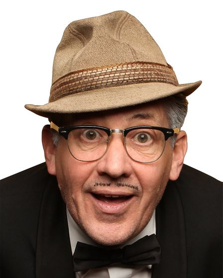 Count Arthur Strong, the comedy character of Steve Delaney, prone to delusions of grandeur, selectiv