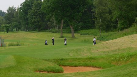 Costessey Park Golf Club's new holes, including the forth, on land purchased by owner Larry Rowe. PH