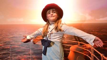 There will be plenty of fun at the Titanic exhibition at the Time and Tide museum.Jenny Moore,7,