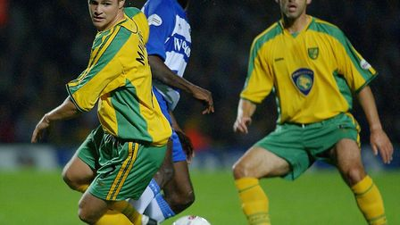 Phil Mulryne in his days playing for Norwich City. Picture: Nick Butcher
