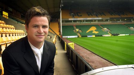 Phil Mulryne at Carrow Road. Picture: Bill Smith