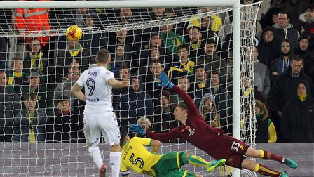 Chris Wood was on target in the 3-2 win at Carrow Road. Picture: Paul Chesterton/Focus Images Ltd