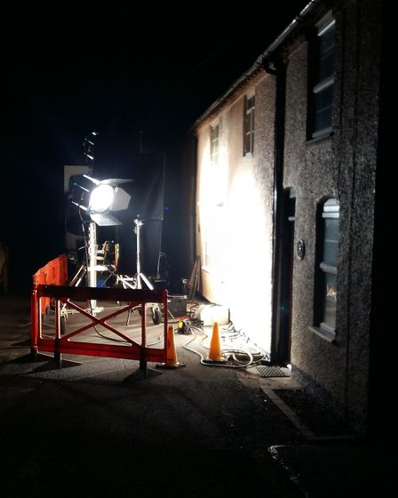 Behind the scenes filming of the video for Ed Sheeran's Castle on the Hill. Picture: RACHEL ALDRIDGE