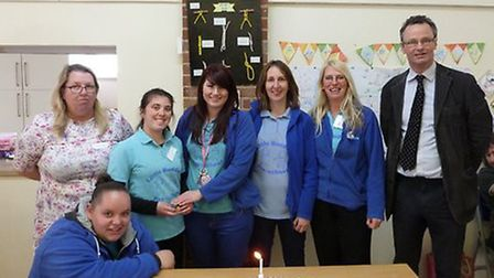 Little Buddies pre-school 10th Anniversay party with Waveney MP Peter Aldous. Pictures: Little Buddi