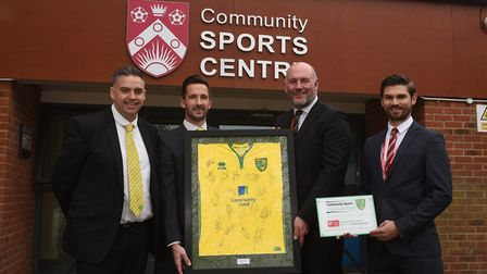 NCFC Community Sports Foundation and Ormiston Denes Academy join to become the first Suffolk based C
