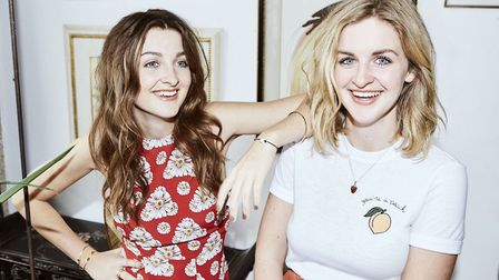 Twins Catherine and Lizzy Ward Thomas who played at Open, Norwich, as part of tour of latest album,