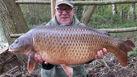 Mike 'Spug' Redfern at the prolific Catch 22 Fishing Centre.