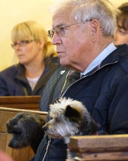 St Nicholas' Church in Bradwell held their annual celebration of pets. Photos from The Reverend Mat