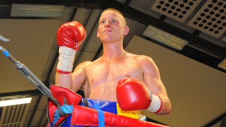 Michael Walsh wants to follow in his brothers footsteps and land a British title. Picture: Steve Ad