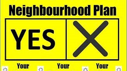 Campaigners are urging residents to vote Yes in the Yaxham Neighbourhood Plan referendum.
