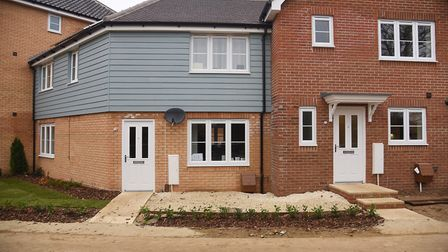 Residents have complained about the standard of homes at Bovis Homes sites. Pictured is a property a