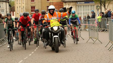 Scenes from the Easter Sunday Funday in Fakenham. Picture: ACTIVE FAKENHAM.