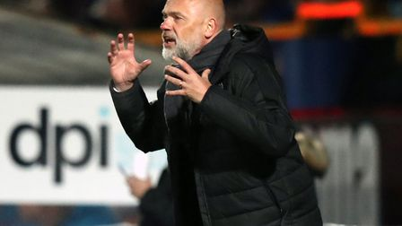 Uwe Rosler is preparing his Fleetwood side for the League One play-offs. Picture: Simon Cooper/PA Wi