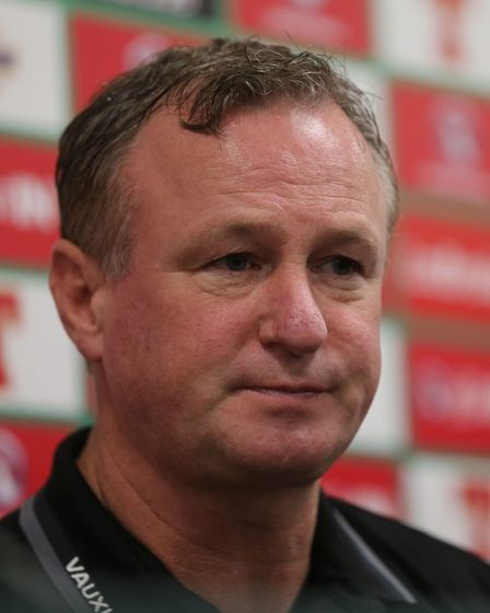 Northern Ireland manager Michael O'Neill. Picture: Niall Carson/PA Wire