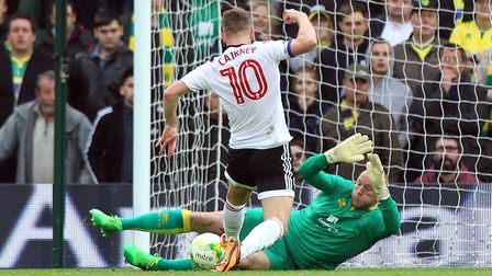 John Ruddy plays his final Norwich City game on Sunday. Picture: Paul Chesterton/Focus Images Ltd