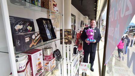 Palmers department store, Yarmouth are celebrating 180 years of business with a giant window display
