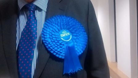 Huge rosettes are a staple of any election. Picture: Rob Setchell