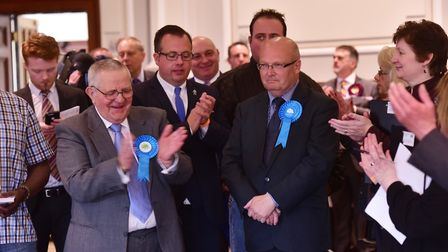 Count for Great Yarmouth area for the Norfolk County elections. Conservative, Graham Plant.