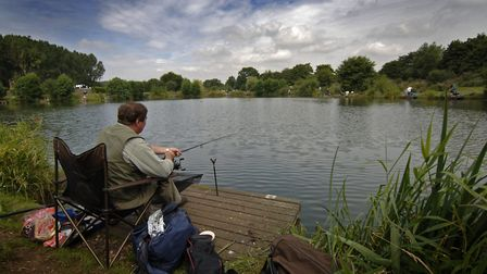 Barford Lakes, where Matt Wiles was a winner. Picture: Antony Kelly