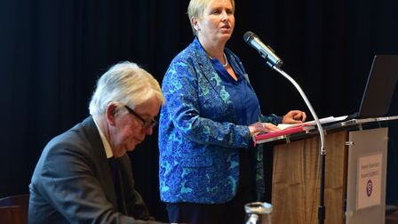 Summit about palliative care and end-of-life issues in Norfolk at the Forum, Norwich.Rosin Fallon-W