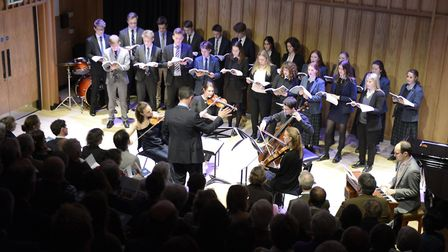 The Albion Quartet perform at the opening concert. Picture: Gresham's School