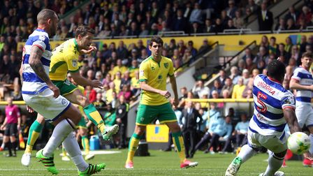 Wes Hoolahan rifled Norwich City in front against QPR. Picture: Paul Chesterton/Focus Images Ltd