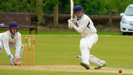 Sam Arthurton in full-on attack mode against Northumberland. Picture: Tim Ferley