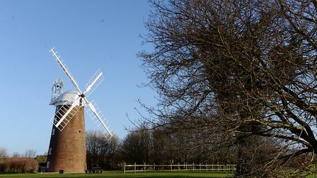 A decision on plans to build 285 homes near Dereham Windmill has been deferred. Picture: Matthew Us