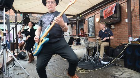 The Mojo Preachers performing at the Dereham Blues Festival last year. Picture: Ian Burt