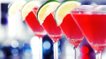 A photo of a cosmopolitan cocktail. Photo: ivanmateev/Getty Images/iStockphoto