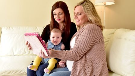 Annalise Green with her daughter Winter-Rose and Mel Ferdani have statrted a YouTube vlog to help ra