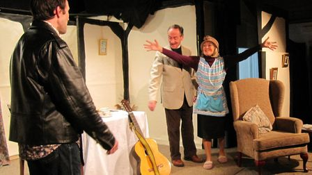 The Bramrocks theatre company is presenting the show I'll Get My Man! Photo: supplied by Hilary Fra