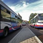 First Buses set to launch new service. Pictured on Castle Meadow; Photo:Antony Kelly