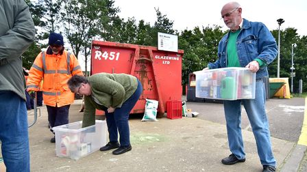 Ketteringham Recycling Centre will remain open as an alternative site. Picture: ANTONY KELLY