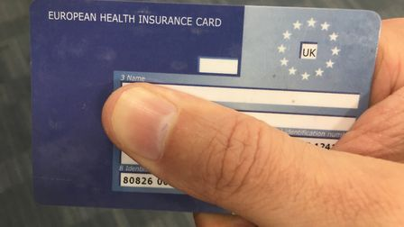 A European Health Insurance Card. Watchdogs have warned people in Norfolk not to fall for a con char