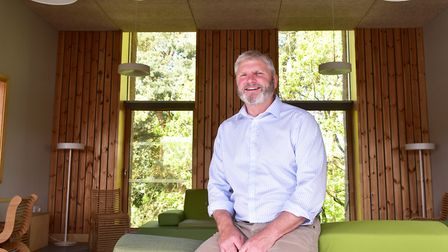 Richard Ross, founder of financial advisers Chadwicks, runs his business from the Enterprise centre